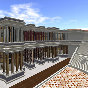 Theatre of Pompey in Second Life